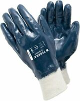 TEGERA 747 Fully Coated Oil Waterproof Nitrile Builders Gardening Work Gloves
