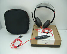 PLANTRONICS Blackwire C5220 Stereo USB-A Computer Headset for Microsoft Lync NEW