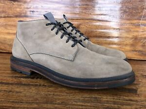 Men's Cole Haan Chukka Boots Beige Suede Leather Size 8