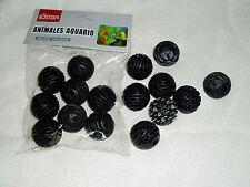 8x BIO BOLAS FILTRO ACUARIO Material filtrante BACTERIAS BIOLOGICO recambio
