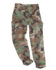 US BDU Feldhose R/S Co prewash woodland, Hose tarn, Army, Outdoor, Jagd    -NEU-
