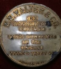 W. W. Walter & Co. Coin