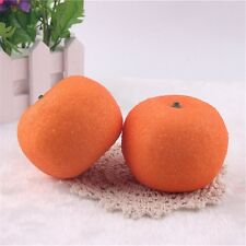 3 pcs Oranges Artificial Faux Orange Fruit Ornament Wedding Party Props Decor