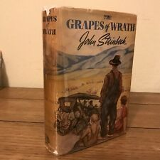 The Grapes of Wrath, John Steinbeck (1939), True First Edition, w/ 1st State DJ