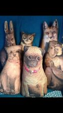Primitive HOOTY, FLOPSY and FOXY - owl, bunny and fox
