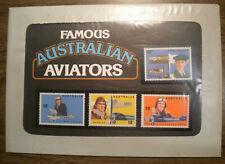 1978 Ausralian Aviators Post Office Pack w Scott's # 672, 673, 674 & # 675 Ognh