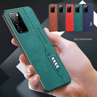 For Samsung Galaxy S20 FE 5G Note 20 Ultra Thin Hybrid Leather Back Case Cover