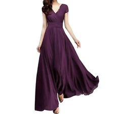 Women Long Formal Prom Dress Cocktail Party Gown Evening Bridesmaid Dresses CA