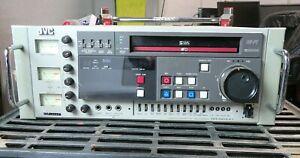 JVC BR-S610U Professional Broadcast SVHS Recorder Rack Mount Industrial