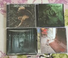 4 CD DOOM/DEATH METAL LOT  FREE SHIPPING!  EVIG NATT FOCUND BETRAYAL