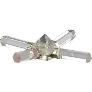 Clear Crystal Quartz Pyramid Energy/Healing Generator!