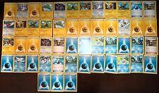 Lot de 51 Cartes POKEMON Du KIT DRESSEUR Aucun double (Mint Condition) LPFKD51