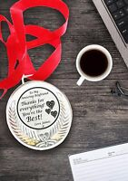 Personalised gift- Medal for Boy Friend Best/unique Gift for birthday/christmas