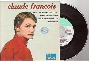 CLAUDE FRANCOIS belles belles belles CD SINGLE EP venus en blue jean