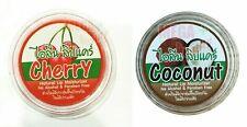 Lip Balm Coconut oil 10 g Cherry Natural Moisturizer Gloss Lipstick Treatments