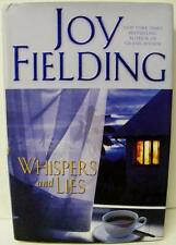 WHISPERS AND LIES JOY FIELDING  MYSTERY NOVEL AUTHOR SIGNED AUTOGRAPH BOOK