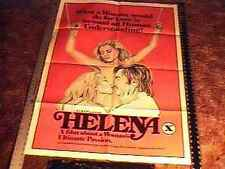HELENA  MOVIE POSTER SEXPLOITATION GREAT