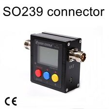 SURECOM SW-102S  SO239 connector . POWER METER FOR MOBILE RADIO Transceiver