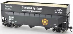 Bowser  SUN BELT SYSTEM 70-Ton Wood Chip Hopper Cars (assorted #'s)  *FREE SHIP