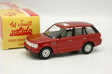 Solido Hachette 1/43 - Range Rover Sport 2004 Rojo
