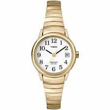 Timex Women's Easy Reader Watch, Gold-Tone Stainless Steel Expansion Band