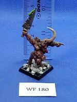 Warhammer Fantasy/40K - Plaguebearer of Nurgle Champion Painted - Metal WF180