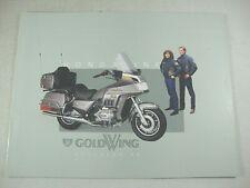 1984 HONDA GOLD WING ACCESSORIES Genuine Dealer OEM Sales Brochure MINT!!