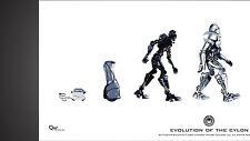 Battlestar Galactica - Poster - Entwicklung der Zylonen - Evolution of the Cylon
