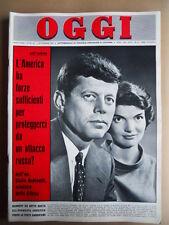OGGI n°44 1962 John Kennedy in difesa dall' URSS  [G742]