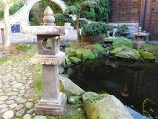 Steinfigur Steinlaterne Pagode Gartenlicht Naturstein s100