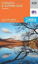 OS Explorer Mappa (439) Coigach E Estate Isles Da Ordnance Survey, Nuovo Libro,