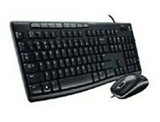 Logitech Wired Media Combo Mk200, Usb 2.0, Black