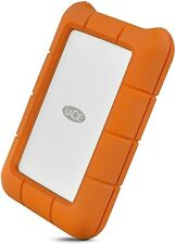 LaCie Rugged Thunderbolt USB-C 5TB External HD Portable HDD – USB 3.0 Compatible