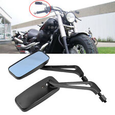 Motorcycle Rectangle Side Mirror 8 10mm For Honda Shadow VT750 600 Spirit Bobber