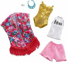 New listing Barbie Dress Up Clothes And Accessories/ Beachwear Swim Suit Set