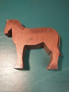 Rare Ostheimer Handmade Wooden Toys Brown Horse (KINDERKRAM)