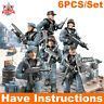 Military Mini Soldiers Army Poilce Figures Fit Mega Bloks Call of Duty Set