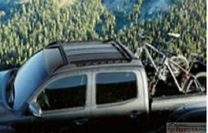 Genuine Toyota TACOMA OEM CROSS BAR ROOF RACK ASSEMBLY PT278-35170 2012-2019