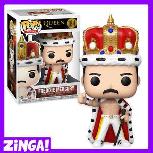 Freddie Mercury King of Queen - (NEW & In Stock) Funko Pop! Rock Vinyl Figure UK