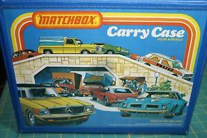 1978 Matchbox Carry Case Holds 24 Models Vintage (case Only)