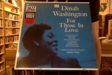 Dinah Washington For Those in Love LP sealed 180 gm vinyl reissue
