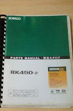 Kobelco Parts Manual RK450-2