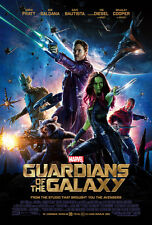 GUARDIANS OF THE GALAXY MOVIE POSTER 2 Sided ORIGINAL INTL FINAL 27x40