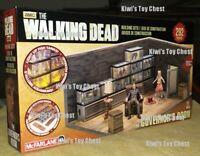 NIB USA! McFarlane TWD Toys Building Set The Walking Dead TV The Governor's Room