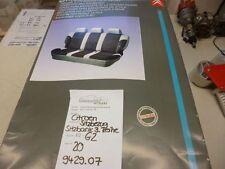 Citroen Evasion Bezug Sitzbank 3. Reihe Cover 3rd Rowbench housse funda bankhoes