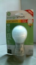 GE Lighting 63503 Energy Smart Bright from the Start CFL 15W,  FREE SHIPPING