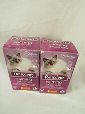 New listing Relaxivet Natural Cat Calming Pheromone Diffuser Refills - Improved.