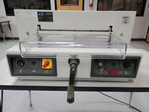 "Triumph MBM IDEAL 4215 16.87"" Digital Paper Cutter Warranty – Challenge 4315 435"