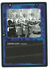 Doctor Who Black Border CCG Creature Card Drahvin Common Card Good Condition