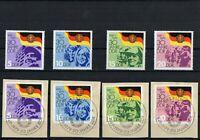 DDR 1979 Briefmarken - Satz - 30 Jahre DDR - Postfrisch + Gestempelt